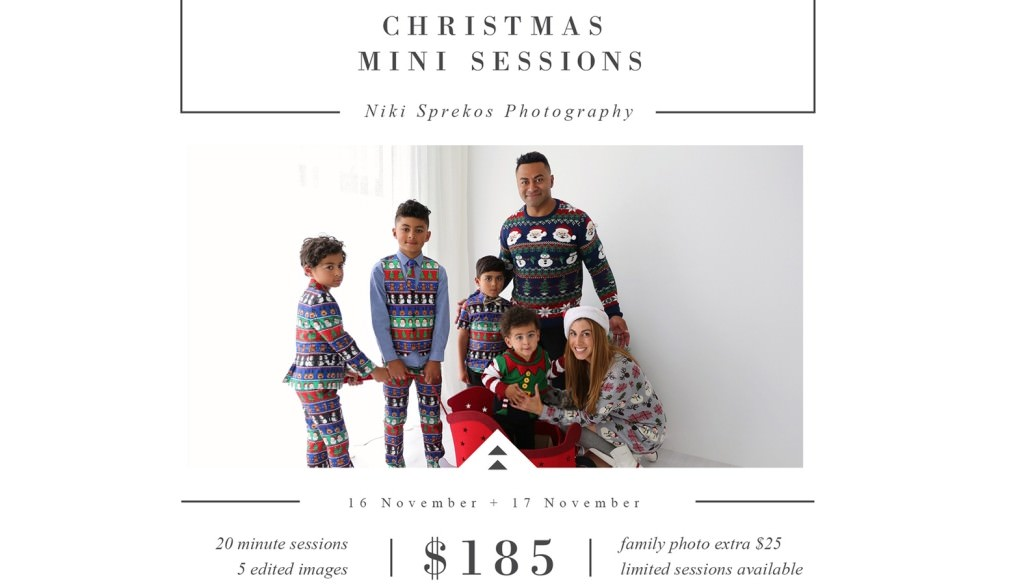 2018 Christmas Mini Sessions