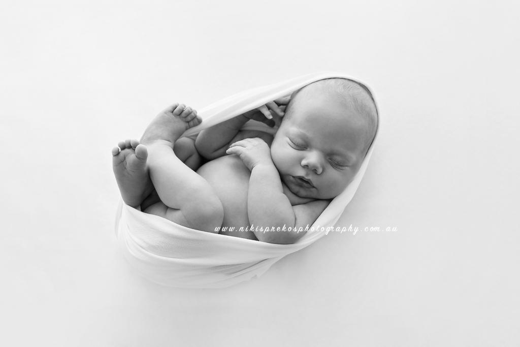 Melbourne Newborn Baby, Niki Sprekos Photography