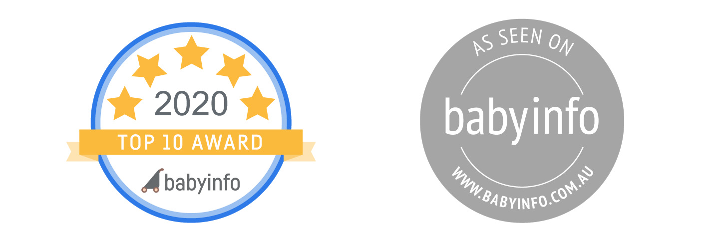 2020 babyinfo top 10 Badge Award