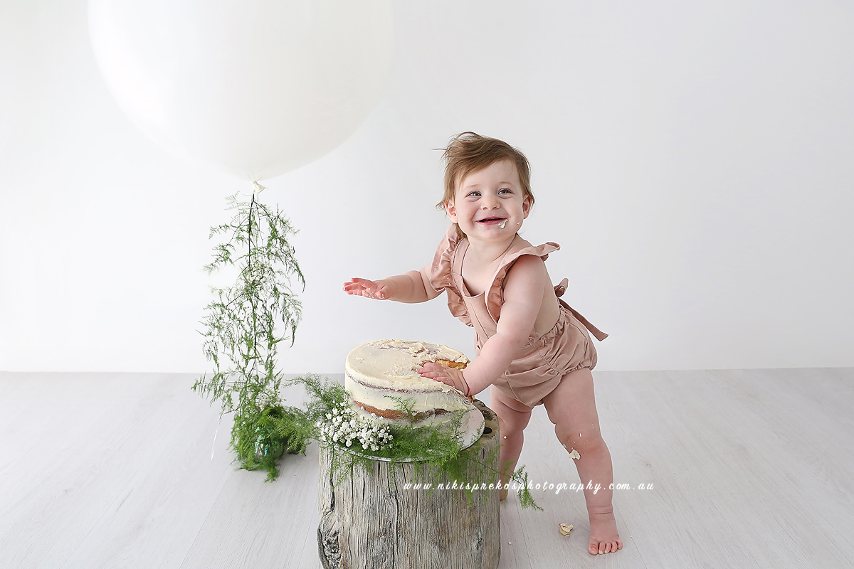 Cake Smash Photography, Niki Sprekos Photography